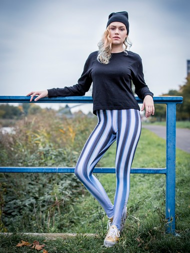 Blurry Lines Leggings